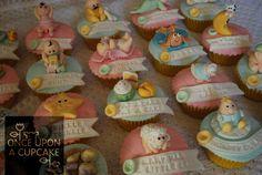 Baby Shower Nursery Rhyme Cupcakes