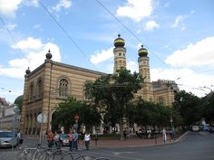 Dohany Street Synagogue (largest in Europe) - Budapest, Hungary