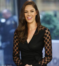 Abby Huntsman said this week that she is not ruling out running for office. The daughter of former U. Ambassador to China Jon Huntsman, currently works for MSNBC. Girl Celebrities, Celebs, Female News Anchors, Kimberly Guilfoyle, Tv Girls, Woman Smile, Famous Women, Preppy Style, Tights