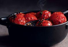 Fire Roasted Tomatoes -- a perfect Mrs. Dash recipe - mrsdash.com #saltsubstitute #nosalt #broiling