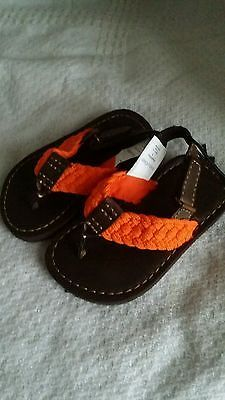 20% off of almost everything until the end of the month. Please view my ebay shop by clocking on this link Toddler shoe size 6 orange braided sandals Babygap brand new with tags