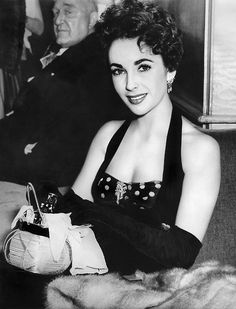 Elizabeth Taylor--she is one of the loveliest movie stars ever. Description from pinterest.com. I searched for this on bing.com/images