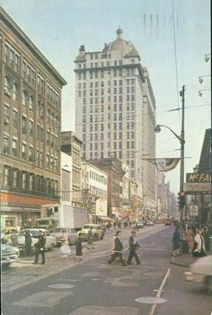 Liberty Avenue - 1968 - Pittsburgh, Pennsylvania