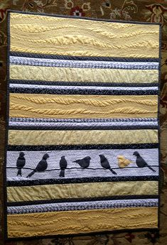 Baby Bird Quilt | Flickr - Photo Sharing!