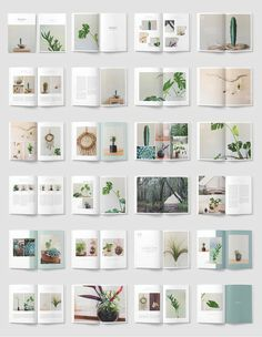 Create 48 unique pages – A4 and US Letter.