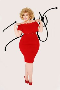 Curvy is the new black.