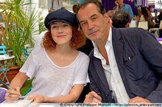 """Blandine Bellavoir & Samuel Labarthe (""""Les Petits Meurtres d'Agatha Christie"""") - Festival de la fiction TV de La Rochelle 2015"""