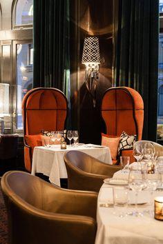 Eik Annen Etage / Wille Interior Oslo, Interior Work, Cafe Bar, Chair, Luxury, Contemporary Decor, Inspiration, Furniture, Restaurants