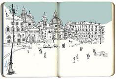piazza del poporo, Rome, Italy | Flickr - Photo Sharing!