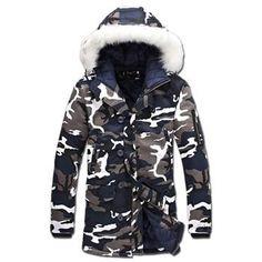 7af16221c98 Men Jacket 2017 Casual Men Jacket Plus Size S-5XL Winter Long Parka Men Coat