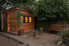 99 Fascinating Diy Backyard Studio Shed Remodel Design Decor Ideas - Outdoor Office, Backyard Office, Backyard Studio, Garden Office, Outdoor Rooms, Shed Office, Home Office, Diy Deck, Diy Pergola