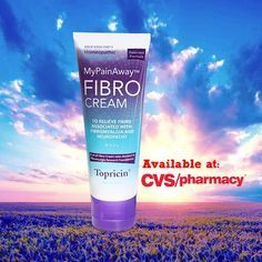 MyPainAway™ FIBRO Cream available at CVS Pharmacy, CVS.com, or call us directly at 800-959-1007 and we can help! #FibroCream #MyPainAway # Fibromyalgia #Spoonie #ChronicPain #SpoonieProblems #SoLongPain