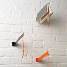 Floating book holders