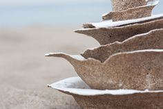 Victor Castanera's Areniscos Tableware Made Out Of Sand | Yatzer