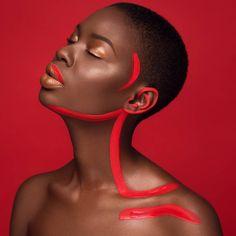 Model: @tshepiso_ralehlathe Mua/Concept/Creative Direction: @moshoodat Photographer: @islandboiphotography