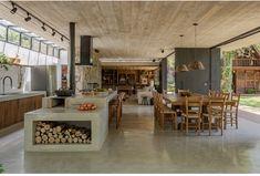 Kitchen Interior, Home Interior Design, Dream Home Design, House Design, Barn House Plans, Shed Homes, Cuisines Design, Kitchen Living, Home Kitchens