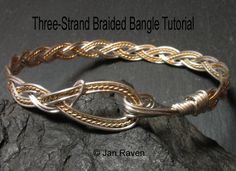 Braided Wire Bangle | JewelryLessons.com