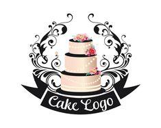 Premade cake logo Custom logo design bakery logo sweets | Etsy