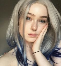 Pin by Phoebe Gearhart on Hair & Beauty in 2019 Hair Inspo, Hair Inspiration, Color Rubio, Multicolored Hair, Image Fashion, Corte Y Color, Look Girl, Coloured Hair, Grunge Hair