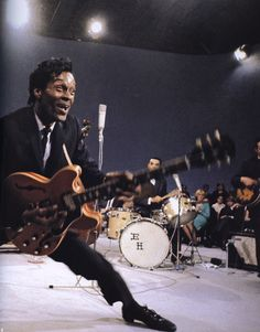 Street Coyote, Chuck Berry, October 1964. © Photo by Jean-Marie...