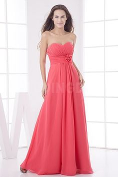 Red Satin Strapless Bridesmaids Gown - Order Link: http://www.theweddingdresses.com/red-satin-strapless-bridesmaids-gown-twdn5303.html - Embellishments: Applique; Length: Floor Length; Fabric: Satin; Waist: Natural - Price: 109.5029USD