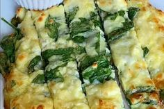 Spinach And Feta Cheese Bread Spinach Alfredo, Spinach Artichoke Chicken, Spinach And Feta, Spinach Casserole, Chicken Casserole, Casserole Recipes, Lunch Recipes, Keto Recipes, Bread Ingredients