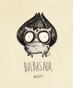 Pokemon If They Were Created By TimBurton - I'd be a lot more interested if they were.