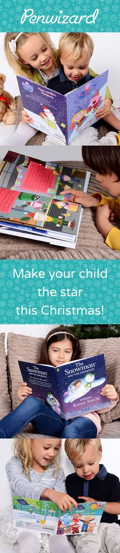 It's Christmas time! Kids are overrun with toys and knickknacks at Christmas, but this year give them a gift they can treasure for years to come! Our #personalised #Christmas books include an option of a beautiful gift message/inscription and is a really special gift! #Christmasgifts