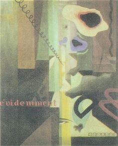 "Julius Evola, ""Composizione (Paesaggio) dada N. 3"" (""Composition (Landscape) dada N. 3""), c. 1920"