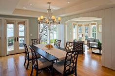 Traditional Dining Room Beige Design, Pictures, Remodel, Decor and Ideas