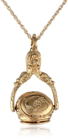 "1928 Jewelry Gold-Tone Rotating Trio Locket Necklace, 30"" 1928 Jewelry,http://www.amazon.com/dp/B000TW2ARK/ref=cm_sw_r_pi_dp_HCvktb1PP8F2CV3J"