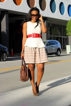 NuSophisticate: Khaki, Beige, and Red