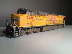 CMR Products is proud to announce a one of a kind decal set by NetzlofDesign Model Works. About the Union Pacific C45ACCTE #7400 Unveiled in September 2010, Union Pacific 7400 proudly wears pink ribbons to show UP's support in the fight against breast cancer.