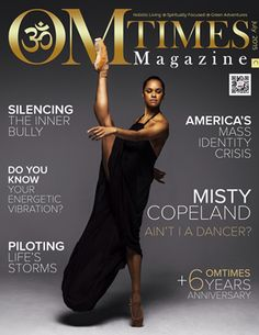 OMTimes Magazine July C 2015 Edition with Misty Copeland
