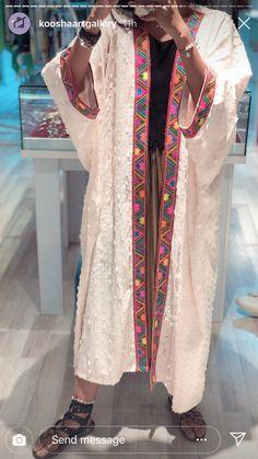 Iranian Women Fashion, Pakistani Fashion Casual, Abaya Fashion, Muslim Fashion, Kimono Fashion, Women's Fashion Dresses, Mode Abaya, Mode Hijab, Mode Kimono