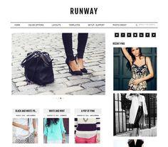Runway: cool Genesis theme for WordPress, really enjoying the gold color scheme