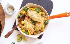 20-Minute Mango Chicken
