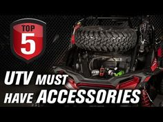 Do you have our Top 5 UTV Accessories on your machine? In this video we highlight 5 UTV essential products that we think every Side by Side should be equippe. Best Utv, Side By Side Accessories, Rzr Accessories, Utv Winch, Radiator Cap, Polaris Ranger, Utv Parts
