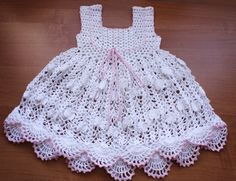 Crochet Dress PDF Pattern No 90