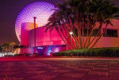 Disney Parks After Dark: Future World Lights Up at Epcot - Disney Parks Blog