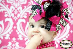 Mommy's Little Sunshine: Over The Top Hair Bow Tutorial