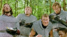 lol the knights' faces