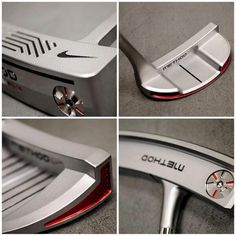 November 3, 2013: ''Method Mod. Classics re-imagined. Available now,'' Nike Golf Europe (‏@NikeGolfEU) tweeted about these cool new putters.
