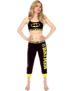 Batman Bandeau Jogging Suit - Spencer's
