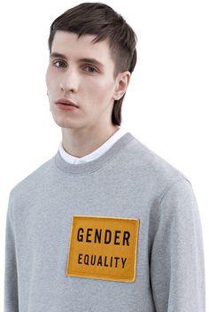 Casey patch sweatshirt #AcneStudios #FW15 #menswear