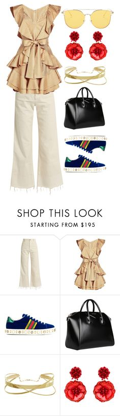"""""""Untitled #41"""" by destiny-orihuela ❤ liked on Polyvore featuring Rachel Comey, Zimmermann, Gucci, Givenchy and Mignonne Gavigan"""