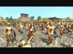 Es un video que da una historia de La Malinche y la conquista de Mexico