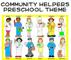 Community Helpers Theme and Activities for Preschool