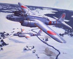 """NAKAJIMA TYPE 100 mod.2 BOMBER """"DONRYU"""" (Ki49-ll) (HELEN) [JAPAN・ARMY]"""
