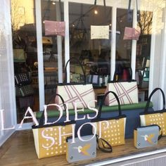 (at Stitch - Holly Aiken Bags) Brick And Mortar, Porch Swing, Outdoor Furniture, Outdoor Decor, Lunch, Stitch, How To Make, Bags, Home Decor